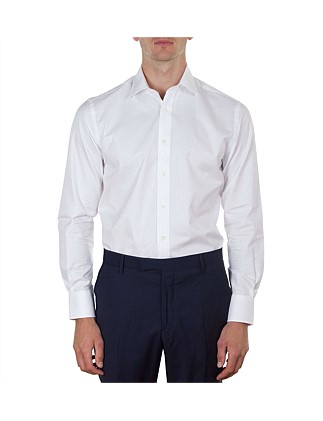 Houndstooth Self Check Contempoarary Fit Shirt