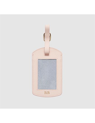 Pale Pink Window Luggage Tag