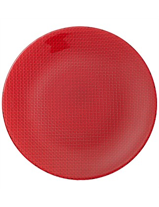 Colour Concept Buffet Plate Red
