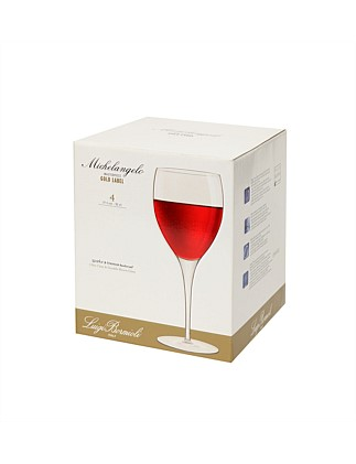 Gold Label Michelangelo Red Wine 4pk