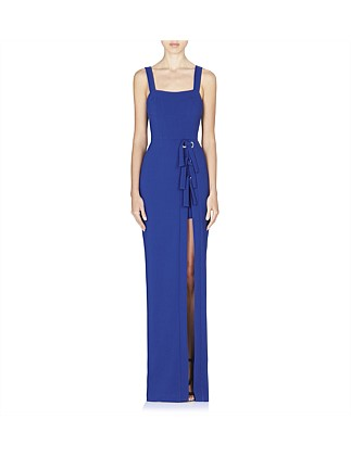 Billie Tie Slit Gown