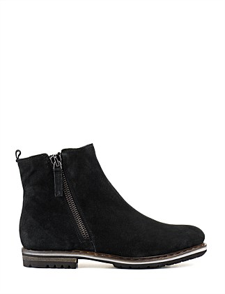 Unicat Ankle Boot With 2 Zips