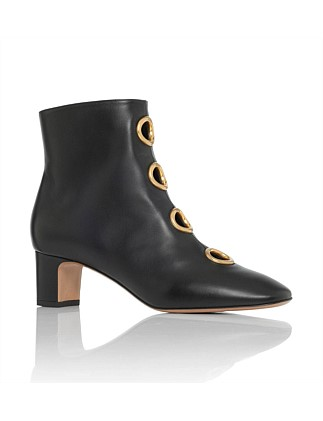 Nw1s0c84 Dlr Nappa Bootie With Gold Gromet 50
