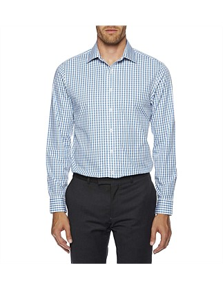 0c2ac974a864 Gingham Check Formal Slim Fit (Kings) Shirt