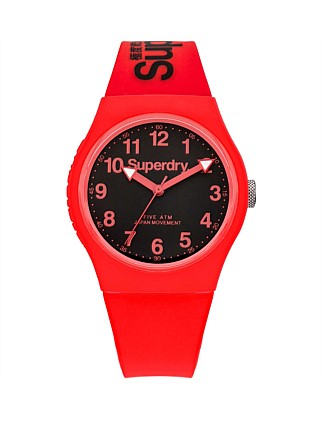 3 Hands;Red Dial