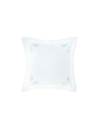Riveria blue EUROPEAN PILLOWCASE