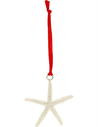 Orn-Mini Starfish Silver