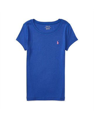 Cotton-Blend Short-Sleeve Tee (8-14 Years)
