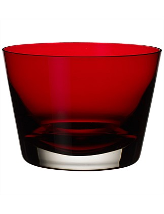 Colour Concept Bowl Red