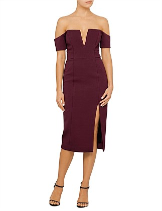 Bandage Deep V Pencil Dress