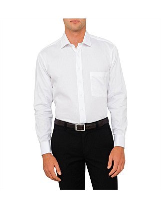 Madison Semi Solid Double Cuff Regular Fit Shirt