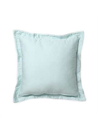 PALMS TEAL SQUARE CUSHION