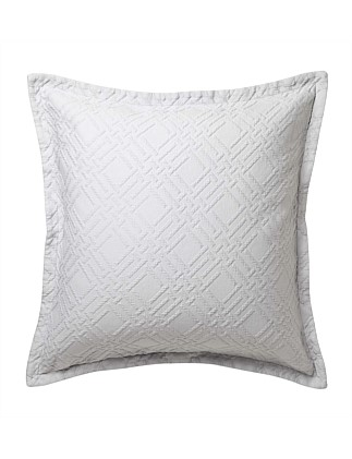 FITZROY SILVER EUROPEAN PILLOWCASE