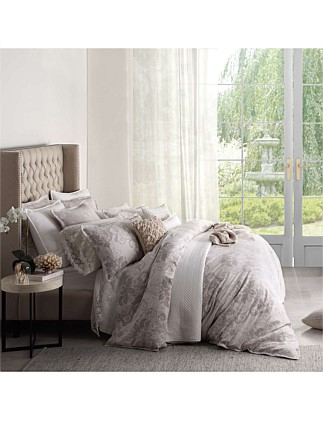 INES LINEN QUILT COVER SET - KING