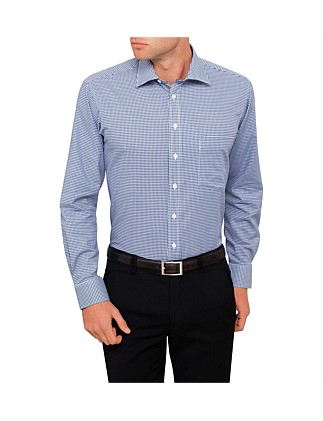 Chequers Dobby Check Slim Fit Shirt