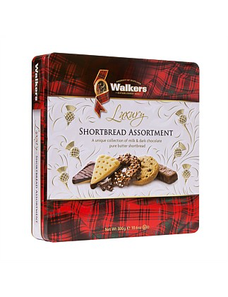 Luxury Shortbread Assortment Tin 300G