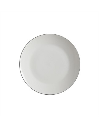 White Basics Edge Coupe Plate 23.5cm