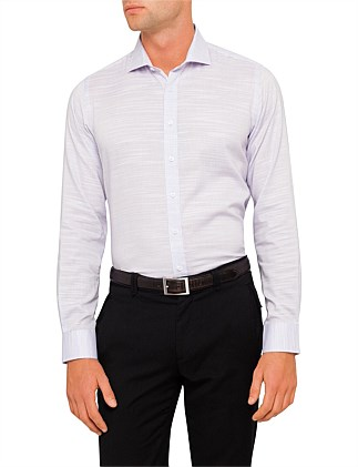 Lecce Linen-Esque Slim Fit Shirt