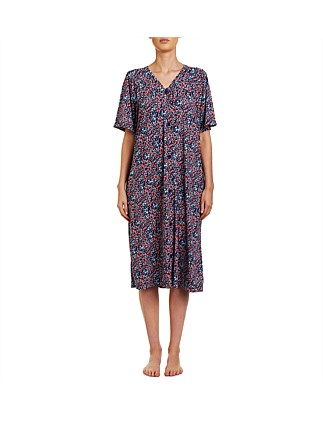 Lucy Short Sleeve Button Brunchcoat