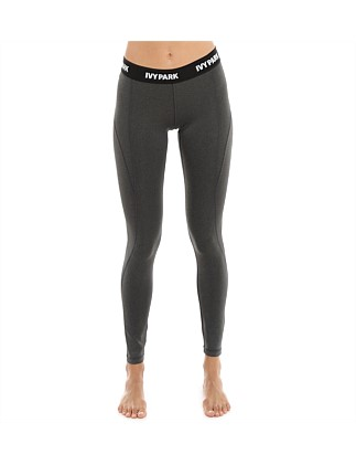 Low Rise Logo Elastic Legging