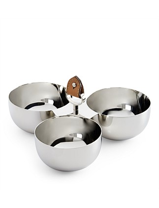 Wyatt Triple Nut Bowl