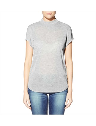 Sleelveless Boston Mock Neck Top