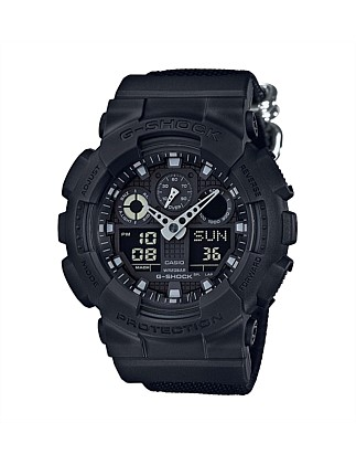 G Shock Duo Blk Out Series 200m W/R,W/Time