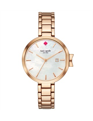 Park Row Rose Gold-Tone Watch