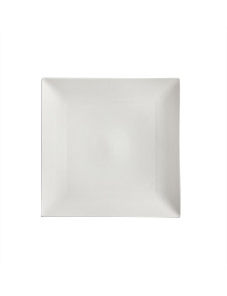 White Basics Linear Square Platter 36cm
