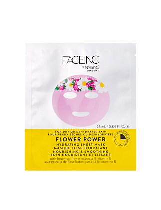 Sheet Mask Flower Power