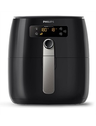 Hd9643/17 Airfryer Turbostar Digital Black
