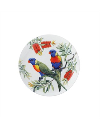 Cashmere Birdsong Plate Lorikeets
