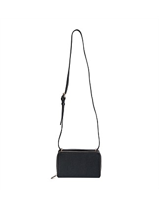 Zip Around Box Crossbody