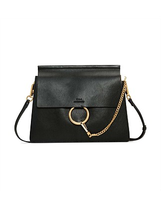 Faye Medium Shoulder Bag With Long Leather Strap