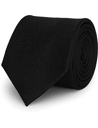 Ceremony-Plain Silk Tie