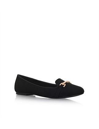 Mingle Black Loafer Shoe