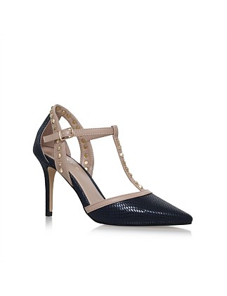 Carvela-Kankan-Navy- Court Shoe