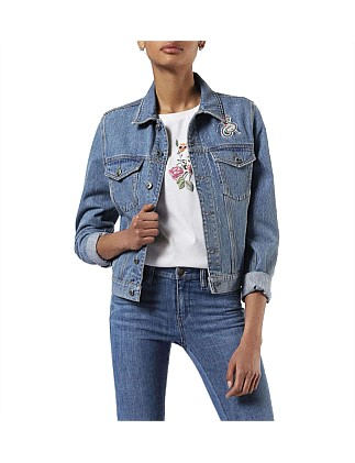De-Wild Denim Jacket