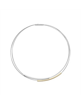 Elin Stainless Steel Necklace - Silver/Steel, Rose Gold