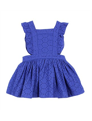 Girls Blossom Embroidered Dress (3-24M)