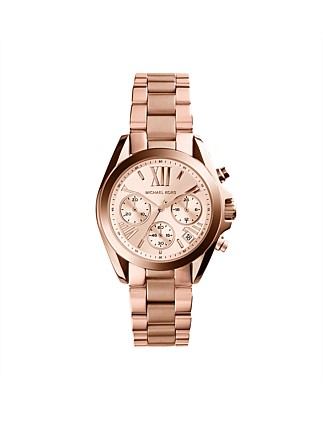Bradshaw Gold Tone/Pink Watch