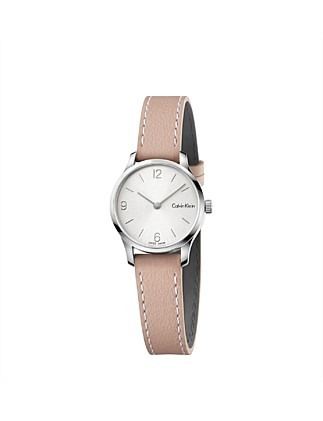 Calvin Klein Pink Endless Leather Watch