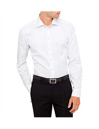 Contrast Trim Oxford Slim Fit