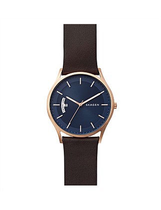 Holst Leather Watch