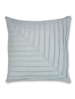 Pleat Pale Blue Cushion