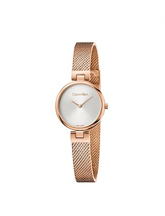 Calvin Klein Authentic Mesh Watch - Rose Gold