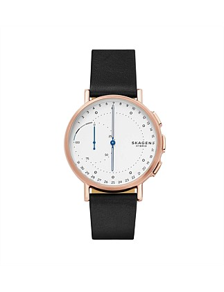 Signatur Leather Hybrid Smartwatch