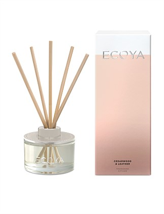 Mini Reed Diffuser - Cedarwood & Leather