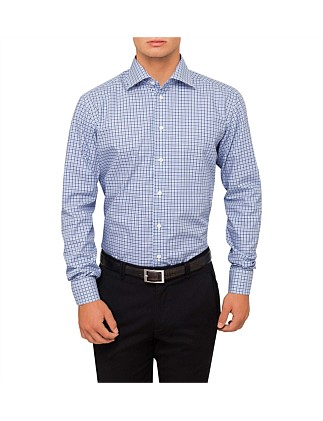 Tattersal Check Slim Fit Shirt