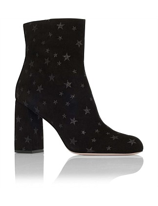 Bootie Suede With Stars